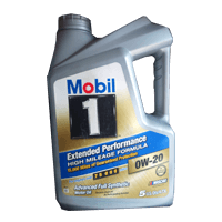 Mobile 1 Extended Performance HIGH MILEAGE FORMULA- -20OW