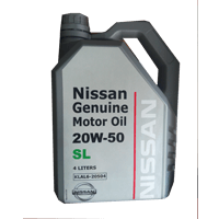Nissan Genuine Motor Oil 20W-50 SL